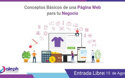 Conceptos Básicos de una Página Web para tu Negocio